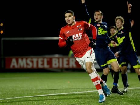 Voormalig PSV'er Aboukhlal doet Helmond Sport pijn, zegeloze reeks duurt voort