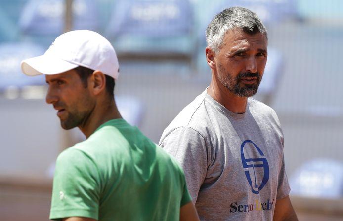 Goran Ivanisevic, coach de Novak Djokovic