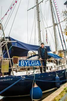 Legendarisch zeilschip Bylgia vaart in Gouda nieuwe toekomst tegemoet