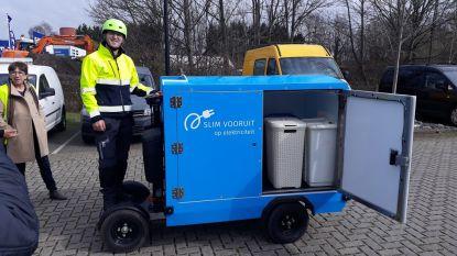 Gent kiest voor stint om wasgoed en voedseloverschotten te vervoeren