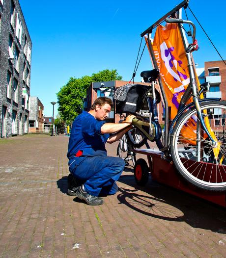 Fietsende fietsenmaker gaat toch door: Opgeven is geen optie meer