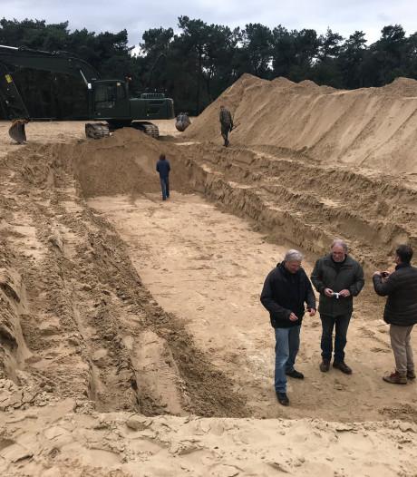 Nieuwe zoektocht naar lichamen verzetsstrijders in duinen bij Udenhout is vruchteloos