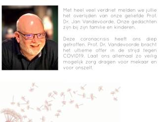 """Afscheid van huisarts Jan Vandevoorde (61): """"Hij bracht het ultieme offer in de strijd tegen COVID-19"""""""