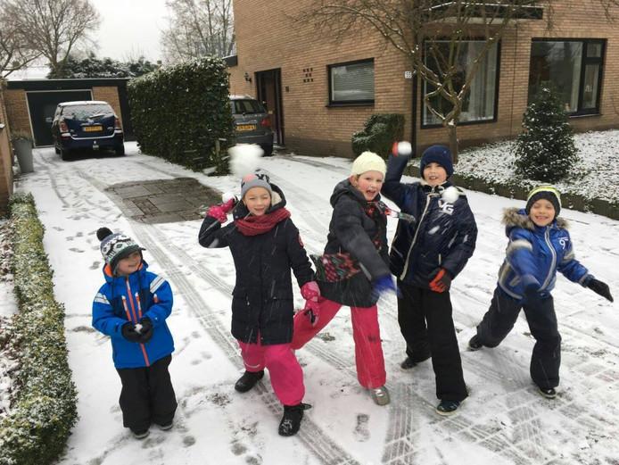 Sneeuwpret in Ermelo