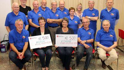 KWB steunt twee projecten met elk 500 euro