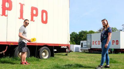 """Circus Pipo zit al wekenlang in quarantaine op Bonheidense weide: """"Eerst het stormweer en dan de lockdown"""""""