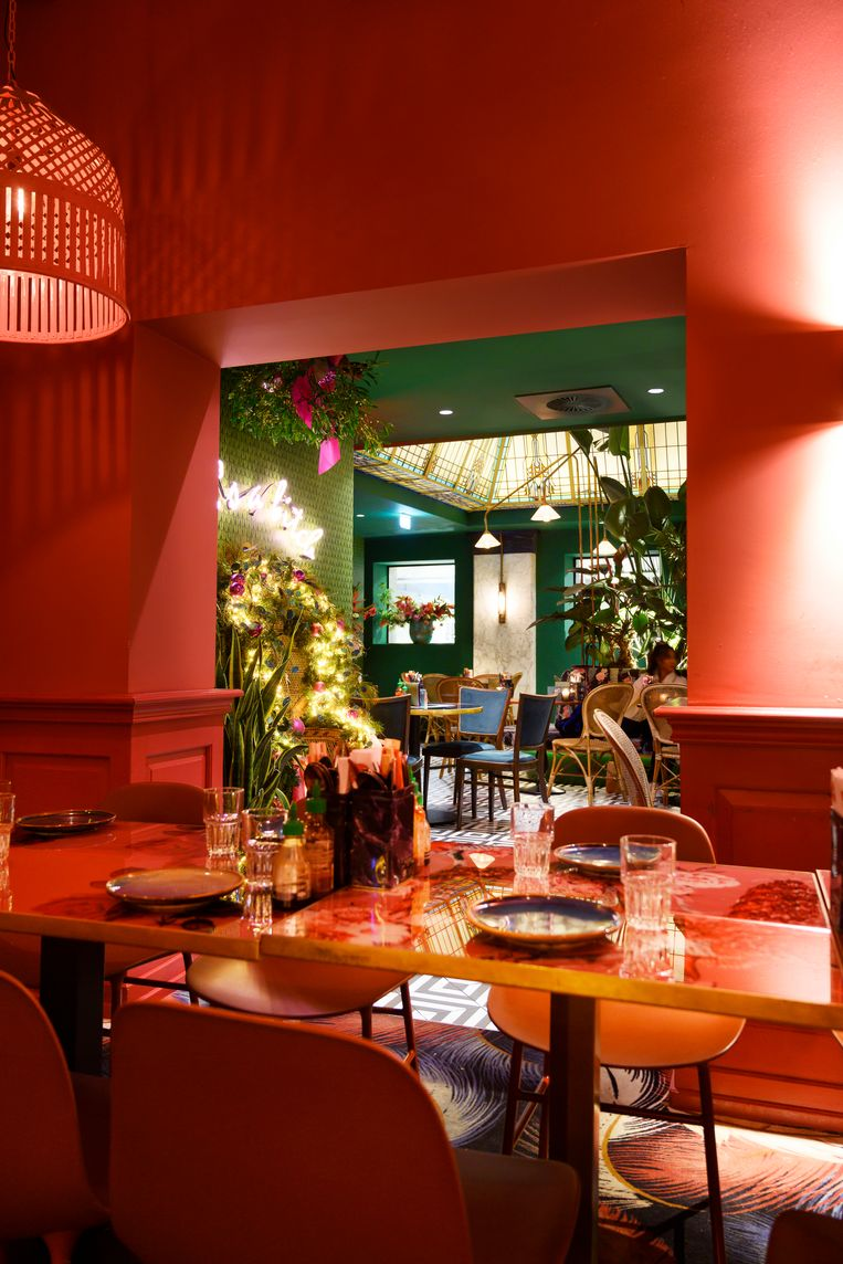 Restaurant the Streetfood Club. Beeld Els Zweerink