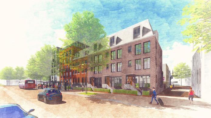 Een impressie van het nieuwe Gasthuiskwartier in Den Bosch.