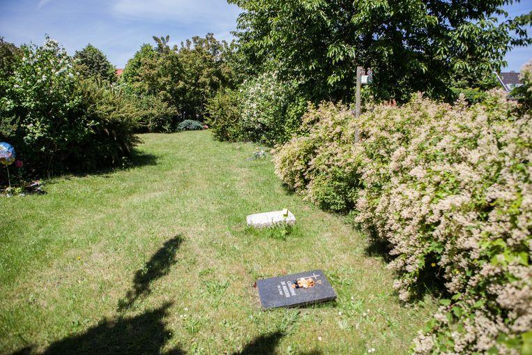 d8d5e36dd45 Aan de kindergraven op de Westerbegraafplaats verdwijnen de kleurrijke  vogelhokjes (rechts) nu wat in