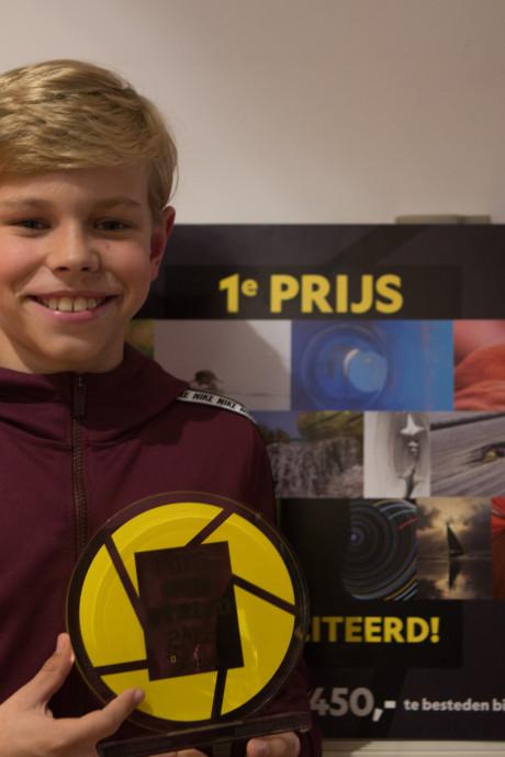 Dirk (14) wint National Geographic-prijs met bijzondere natuurfoto: 'Ik heb alleen maar staan springen'