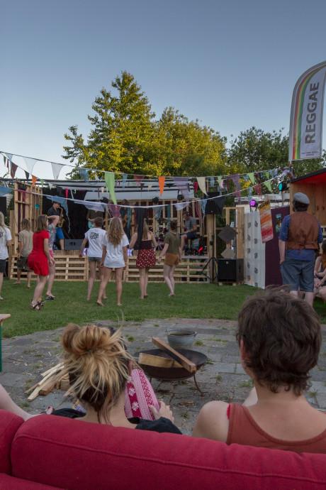 Festivalcamping voor DAER in Vlissingen
