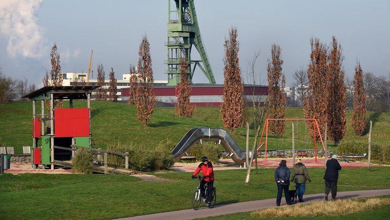 Het Krupp-park. Beeld Marcel van den Bergh/de Volkskrant