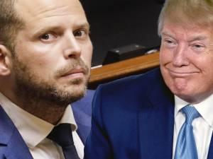 """Les éloges de Theo Francken envers Donald Trump: """"Il est du côté du peuple"""""""