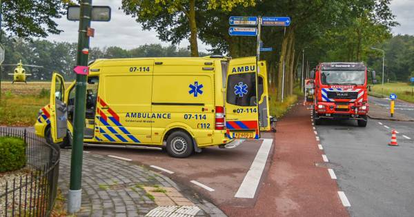 Ernstig ongeluk in Oosterbeek, persoon gereanimeerd.