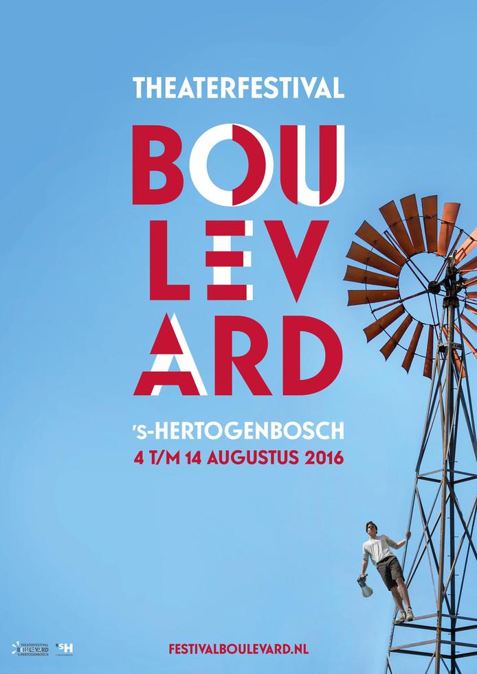 Theaterfestival Boulevard vindt dit jaar van 4 tot 14 augustus plaats.
