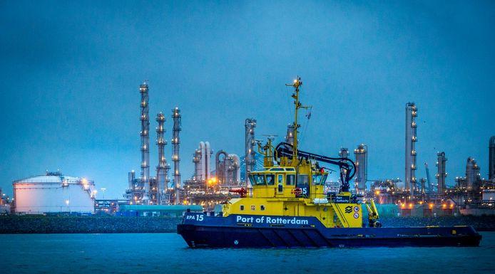 De Rotterdamse haven wacht een behoorlijke tik.