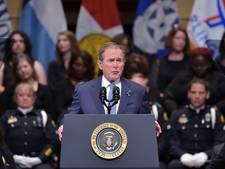 Bush maakt zich zorgen over het Amerika onder Trump