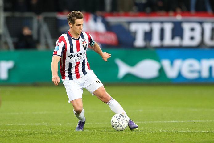 Jordens Peters sluit niet uit dat hij dit seizoen nog op het veld staat met Willem II.