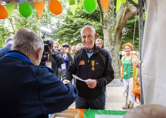 Recordloper Bert van der Lans liep voor de 72-ste keer mee