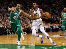Celtics wint ook NBA-topper tegen Warriors