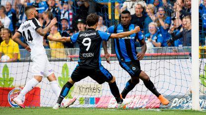 Club Brugge laat zich niet verrassen, Vossen en Wesley verdelen vijf goals tegen slap Eupen