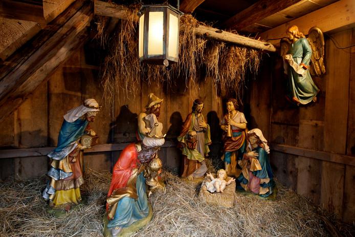Lisette Spronck is op zoek naar de kerststal uit haar jeugd. De kerststal op de foto is slechts ter illustratie.