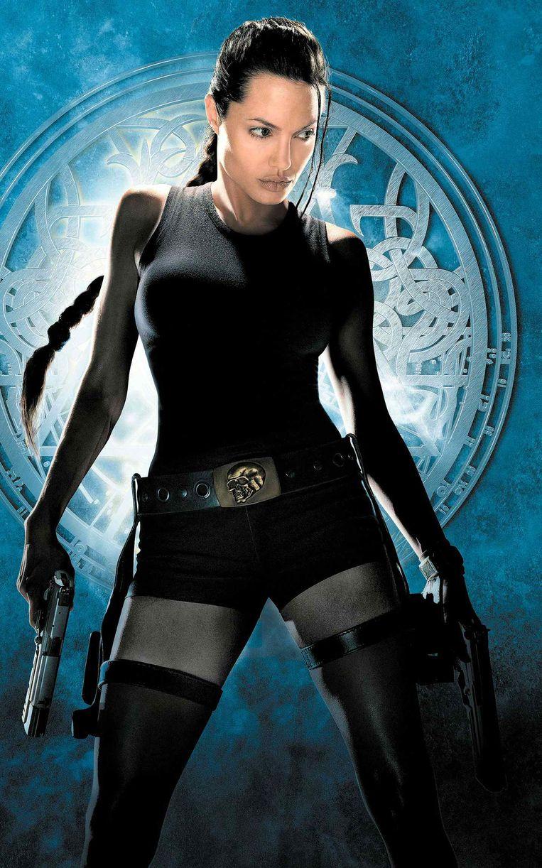 Angelina Jolie als Lara Croft.