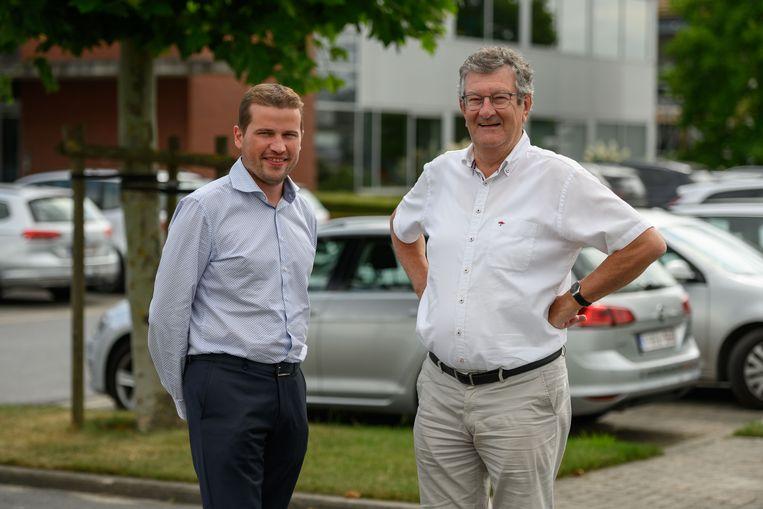 CEO Kristof Defruyt en gedelegeerd bestuurder Dirk Vandenbussche.