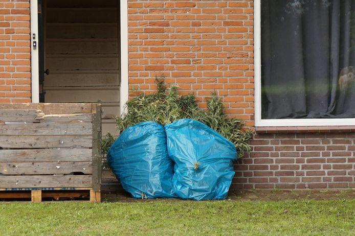 In Kaatsheuvel is een hennepkwekerij aangetroffen.
