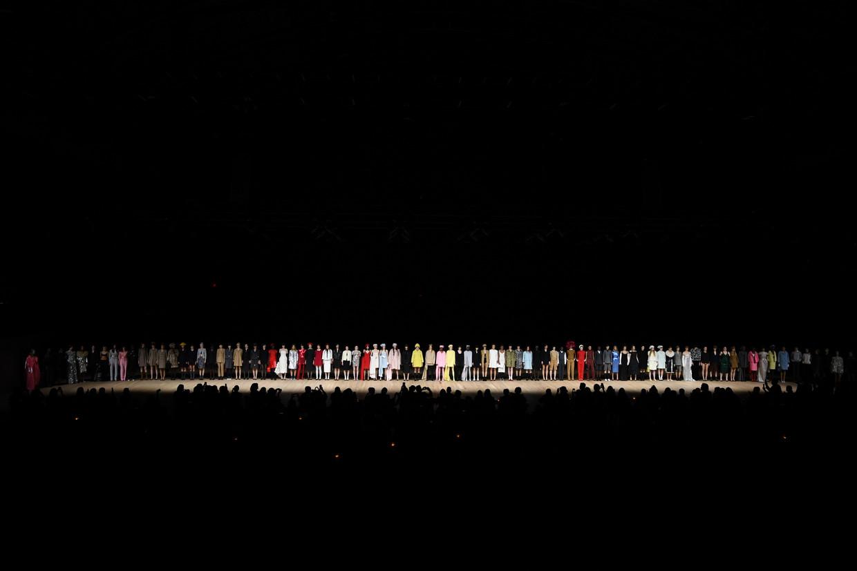 Begin dit jaar: finale van de show van Marc Jacobs in New York, waar de najaarscollectie 2020 werd getoond.
