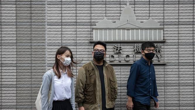 Prominente activist Joshua Wong pleit schuldig tijdens proces in Hongkong