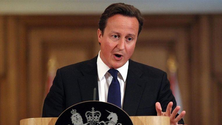 De Britse premier David Cameron geeft toe dat sommige hulp verspild is,