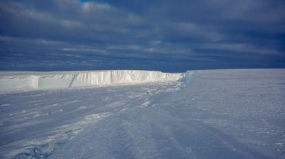 Antarctische ijsplaat dreigt enorme ijsberg te baren die acht keer zo groot is als Antwerpen