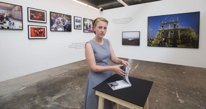 Annejet Brandsma studeert af in Cross Media.