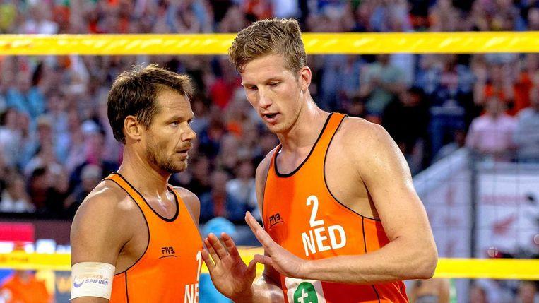 Reinder Nummerdor (links) en Christiaan Varenhorst. Beeld anp