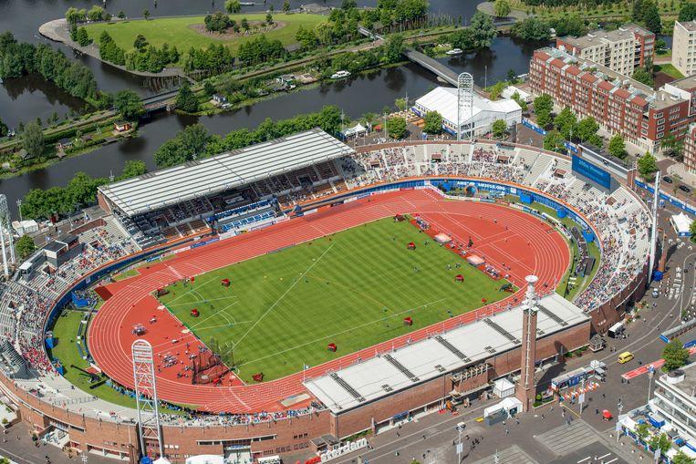 Het Olympisch Stadion in Amsterdam, 2016. Beeld ANP
