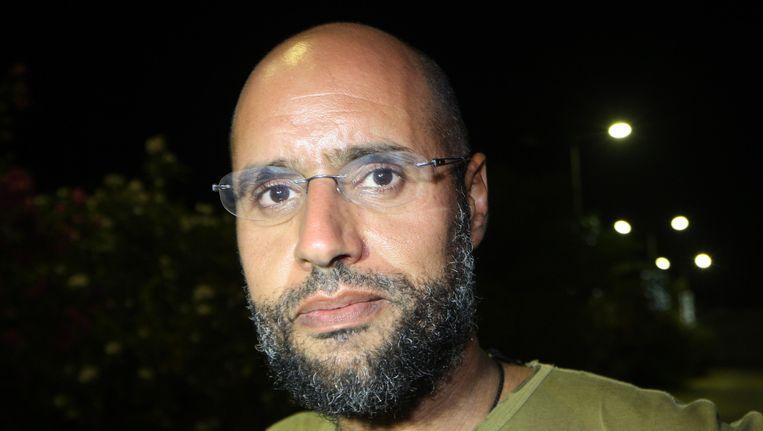Saif al-Islam Kaddafi. Beeld AFP