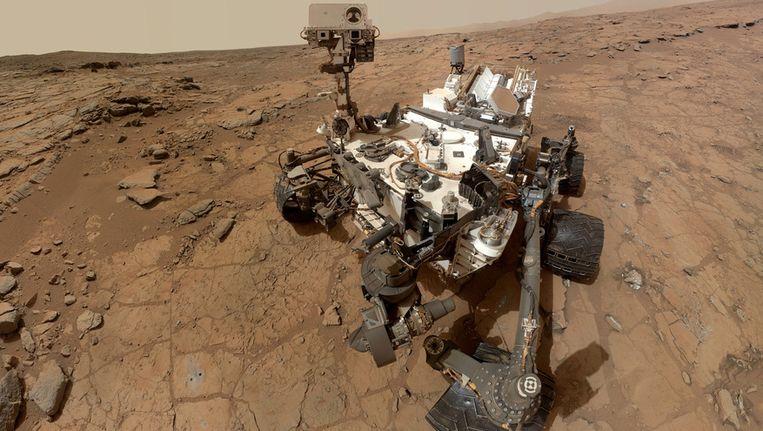 Marsjeep Curiosity.