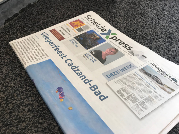 Het avontuur zit er bijna op voor de ScheldeXpress