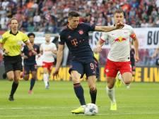 RB Leipzig houdt Bayern in topper op gelijkspel