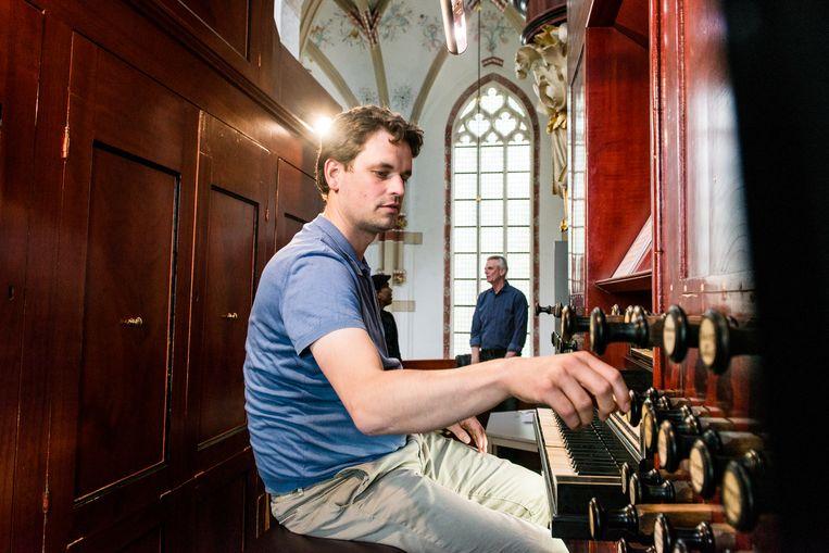 Zaltbommel: Wolfferts-Heijneman-orgel, Sint-Maartenskerk.   Beeld Eva Faché