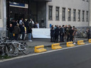 Vlaams Belang betoogt aan de Blandijn