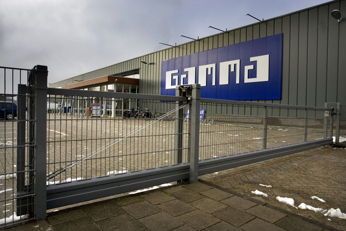 De Gamma aan Vogelstraat.