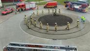 AZ Vesalius krijgt steun van de brandweer