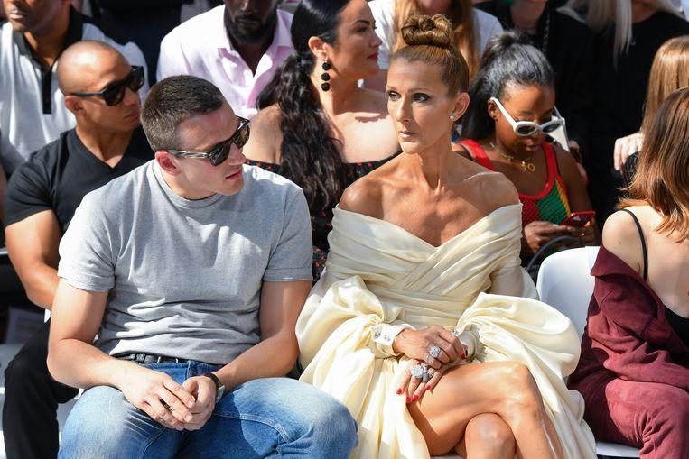 Céline Dion en Pepe Muñoz.