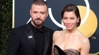 Schattig: zo verbaasd reageert Justin Timberlake wanneer Jessica Biel hem backstage verrast na een concert