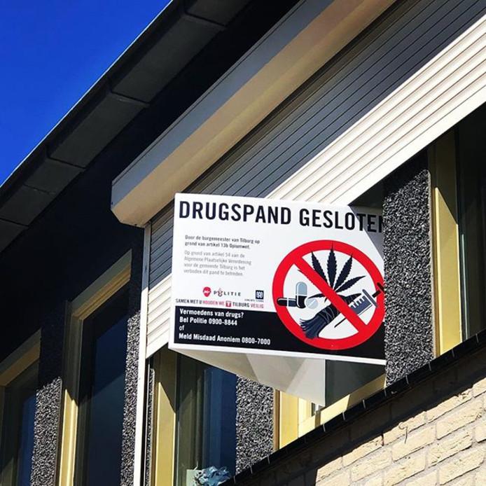 Drugspand gesloten. Foto ter illustratie.