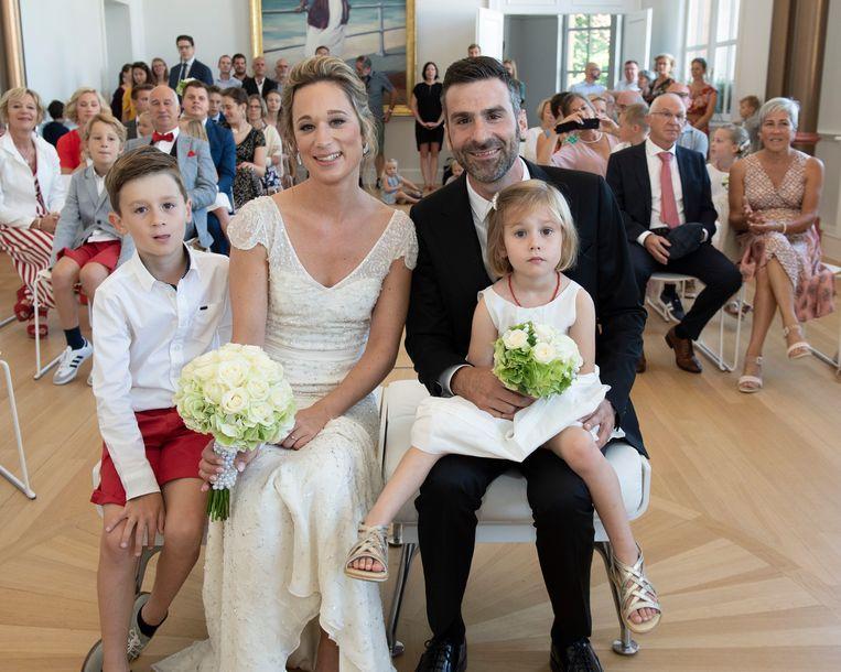 Jan en Fran met hun kinderen.