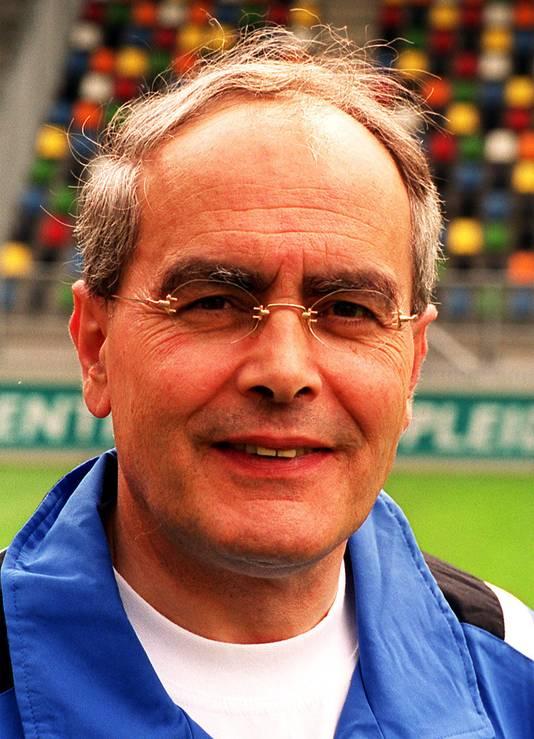 Toon Renes, markante elftalleider van FC Twente en 'chef' op het trainingscentrum in Hengelo.