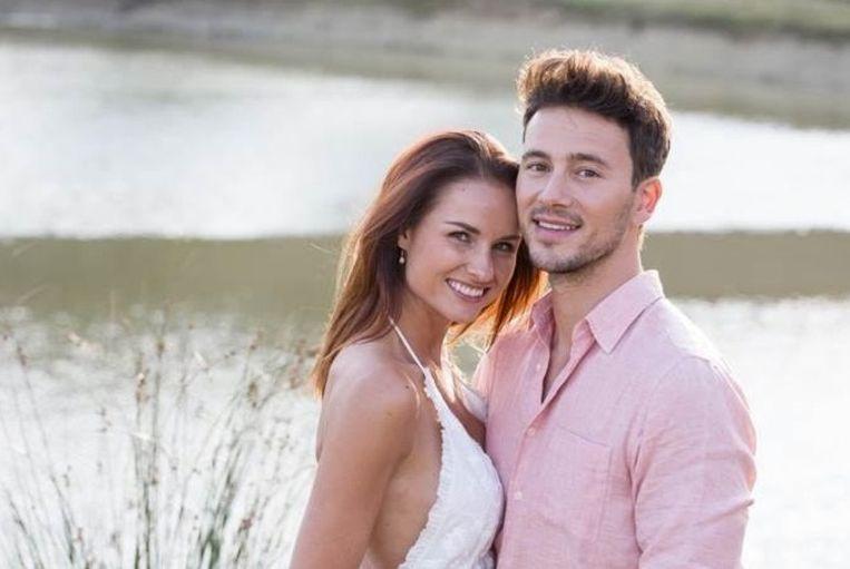 Yannick Bovy en zijn verloofde, Stefanie